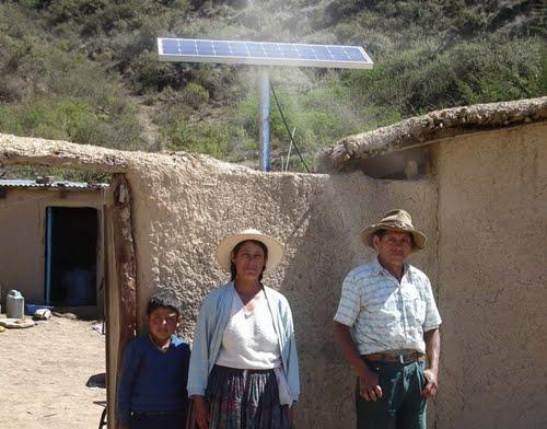 150 mil paneles solares en zonas rurales y aisladas