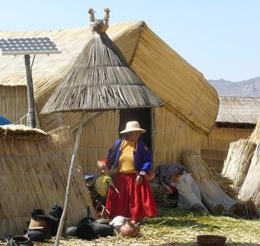 paneles solares peru rural