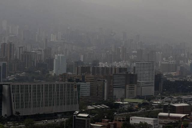 contaminación en principales ciudades de Colombia