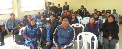 VI Capacitación Colegios: I.E. 7224 Elías Aguirre
