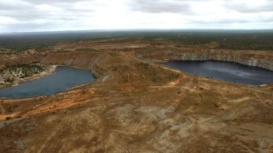 Mina de oro abandonada será almacenamiento de energía renovable