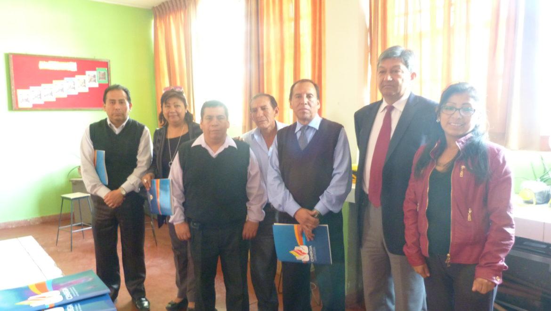 VIII Capacitación Colegios: I.E. 6066 Villa el Salvador