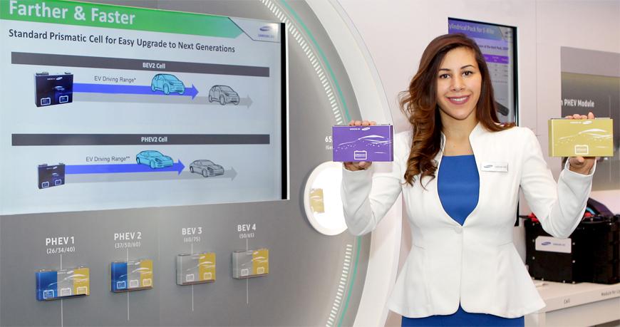 Samsung SDI, la nueva batería para coches eléctricos