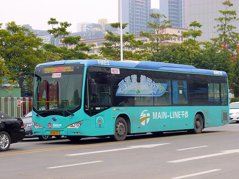 Venta de e-Buses crece en China