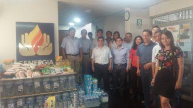 CENERGIA apoya a damnificados por desastres naturales #unasolafuerza