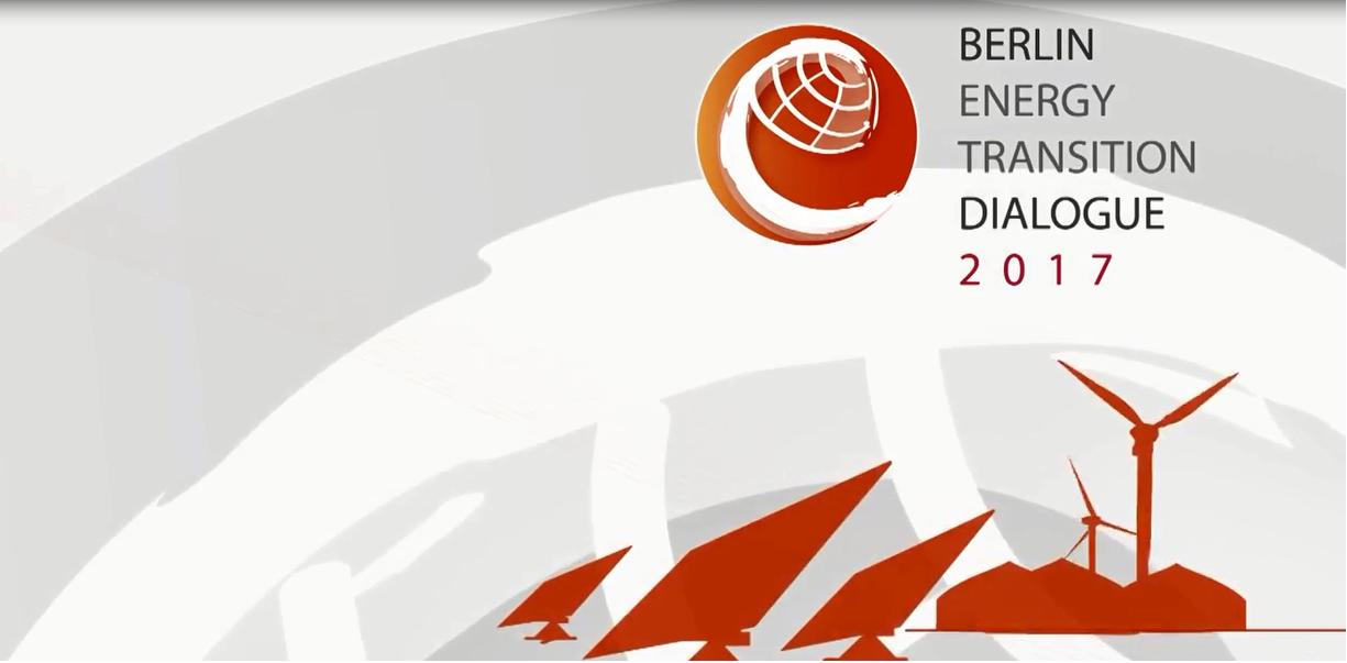 """CENERGÍA participa en reunión Diálogo de """"Transición Energética de Berlín 2017"""" en Berlín, Alemania"""