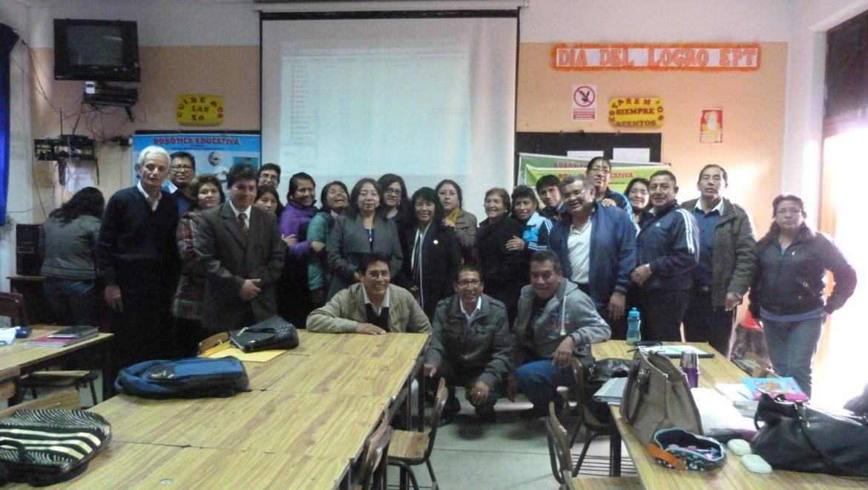 X Capacitación Instituciones Educativas: I.E. 3054 La Flor