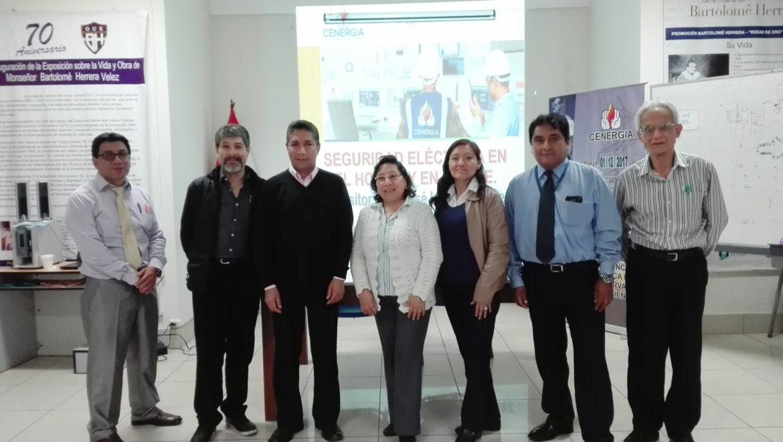 IX Sesión de Capacitación por Convenio de Ecoeficiencia: I.E.E. Bartolomé Herrera